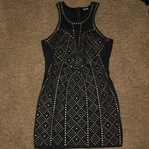 NEVER WORN sparkle and fade studded dress